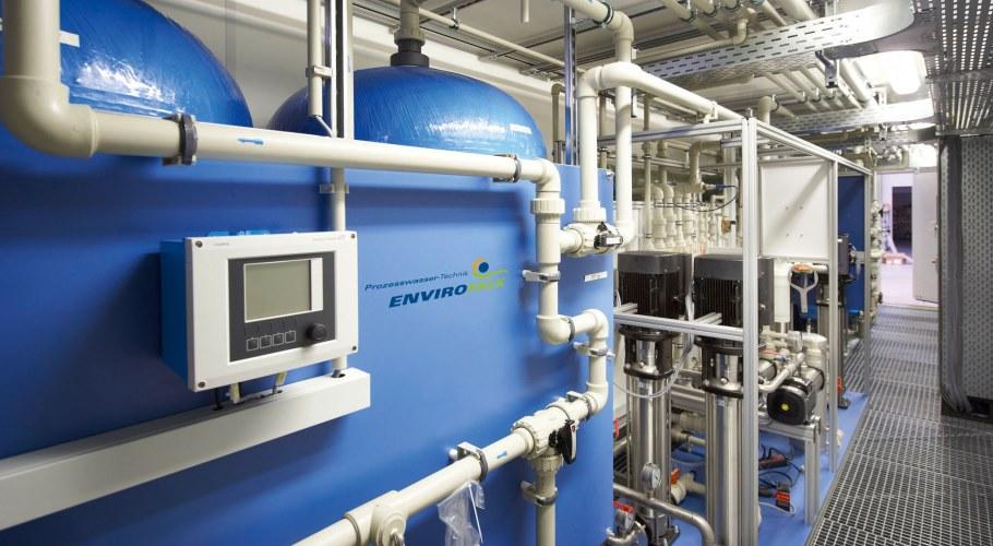 Wasseraufbereitung Im Container Envirofalk Ag